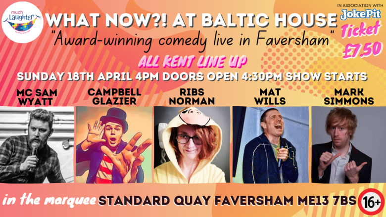Cover 18th april what now   at baltic house