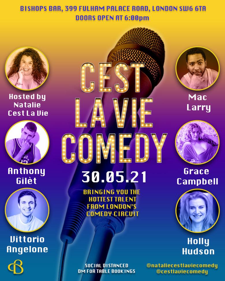 Cover cest la vie 30th may