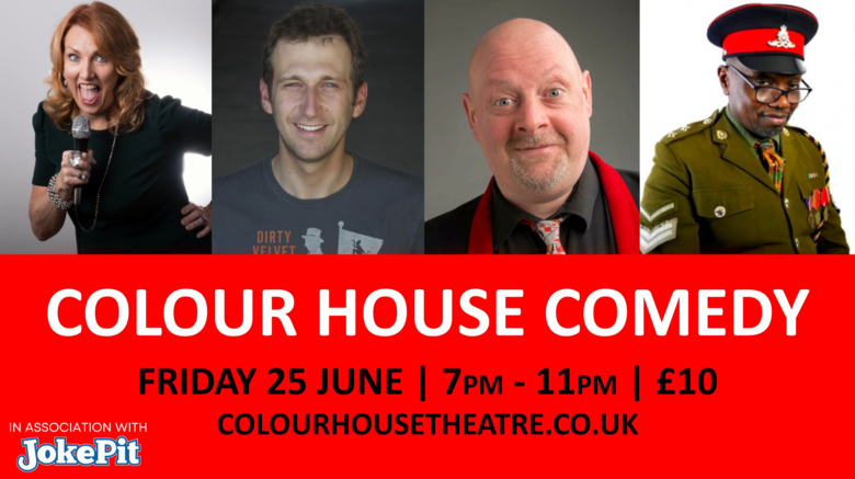 Cover colour house comedy 25th june