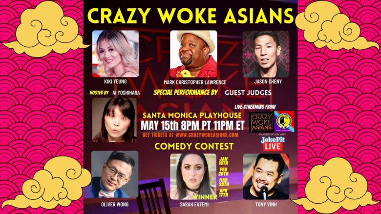 Cover crazy woke asians live stream may 15th