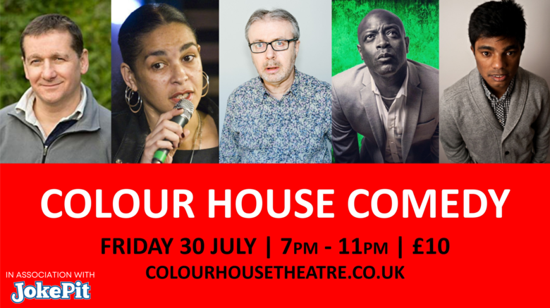 Cover copy of colour house comedy 30th july