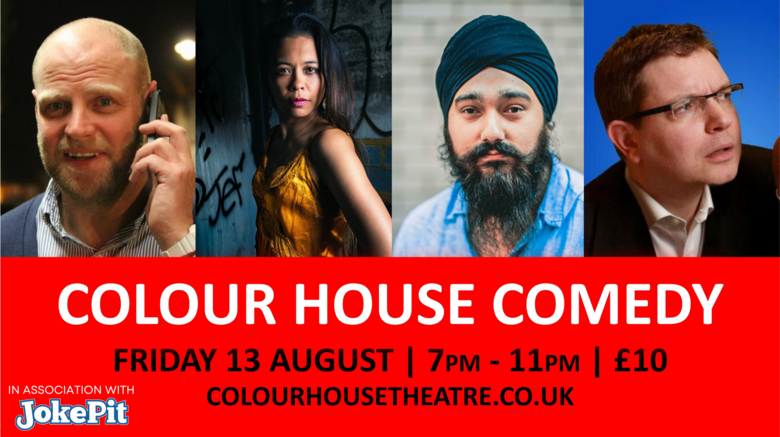 Cover colour house comedy 13th august