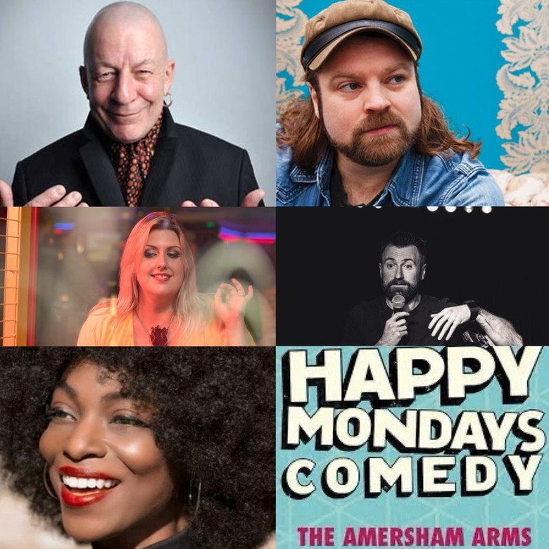 Cover happy mondays comedy 24th may21