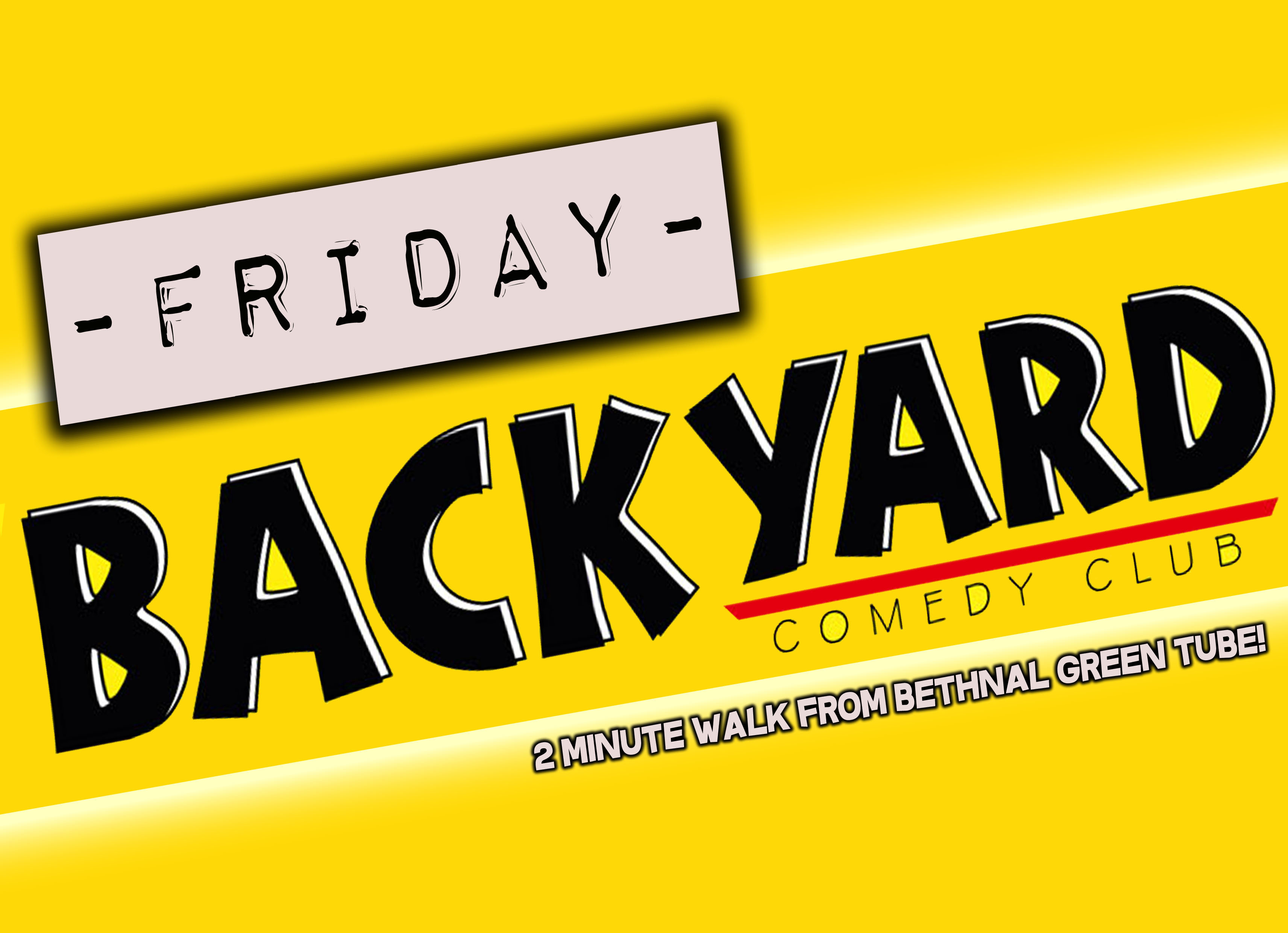 Backyard comedy club   friday night jokepit comedy night tickets
