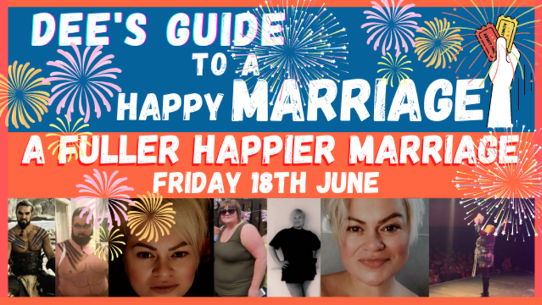 Cover dee s guide to a happy marriage
