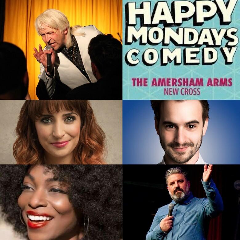 Cover happy mondays comedy 14th june