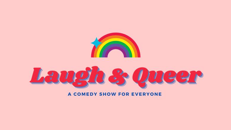 Cover laugh   queer logo
