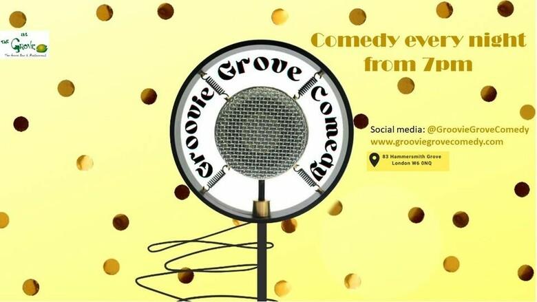 Cover groovie grove groovie mondays jokepit comedy tickets