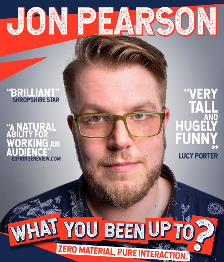 Cover jon pearson poster  online
