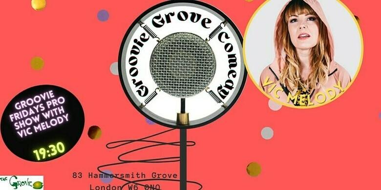 Cover groovie grove comedy friday