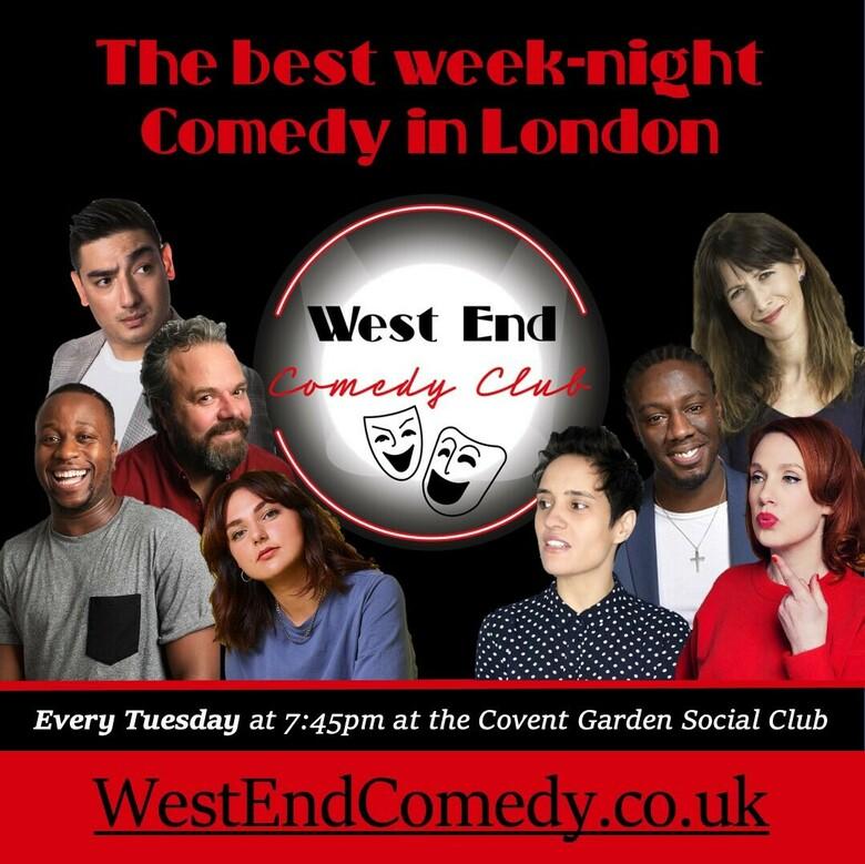Cover the westend comedy club jokepit comedy tickets