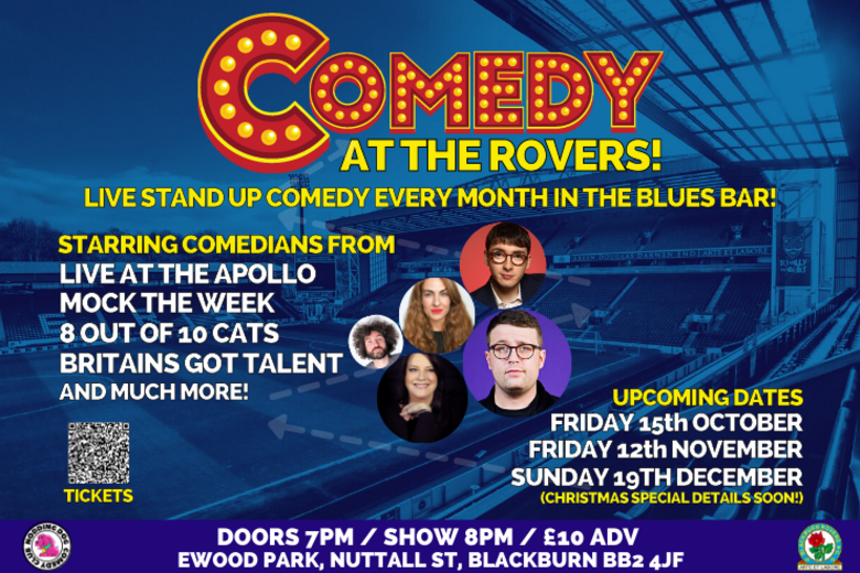 Cover comedy at the rovers a3  740 x 493 px   1