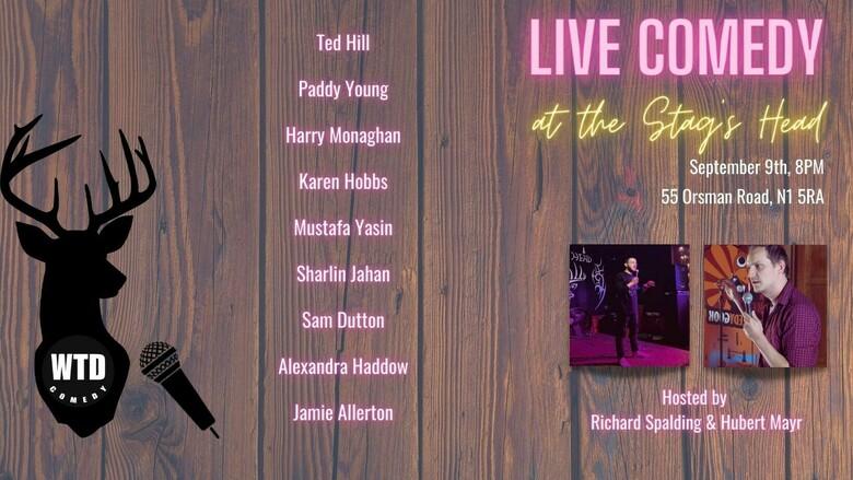 Cover live comedy  2