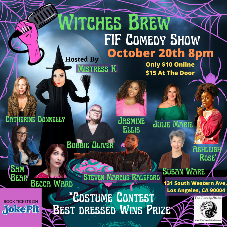 Cover future is female jokepit comedy tickets