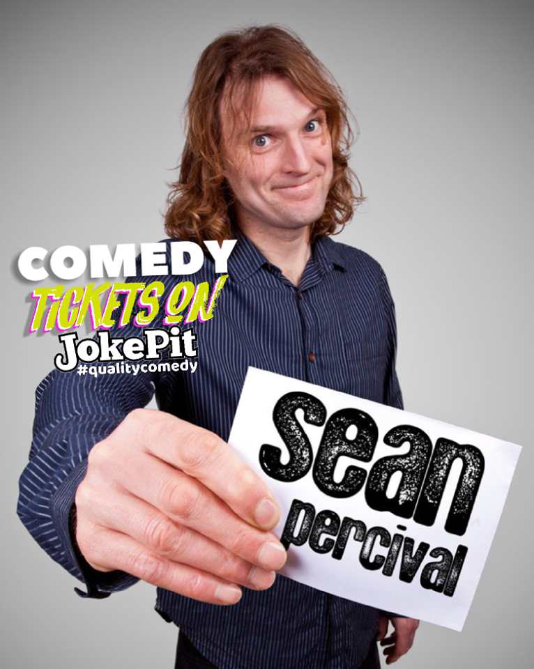 Sean percival comedian jokepit comedy tickets comedy shows comedy clubs comedy nights lee mack greg davies