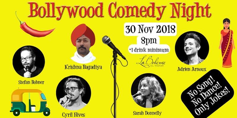 Bollywood comedy night  3 november