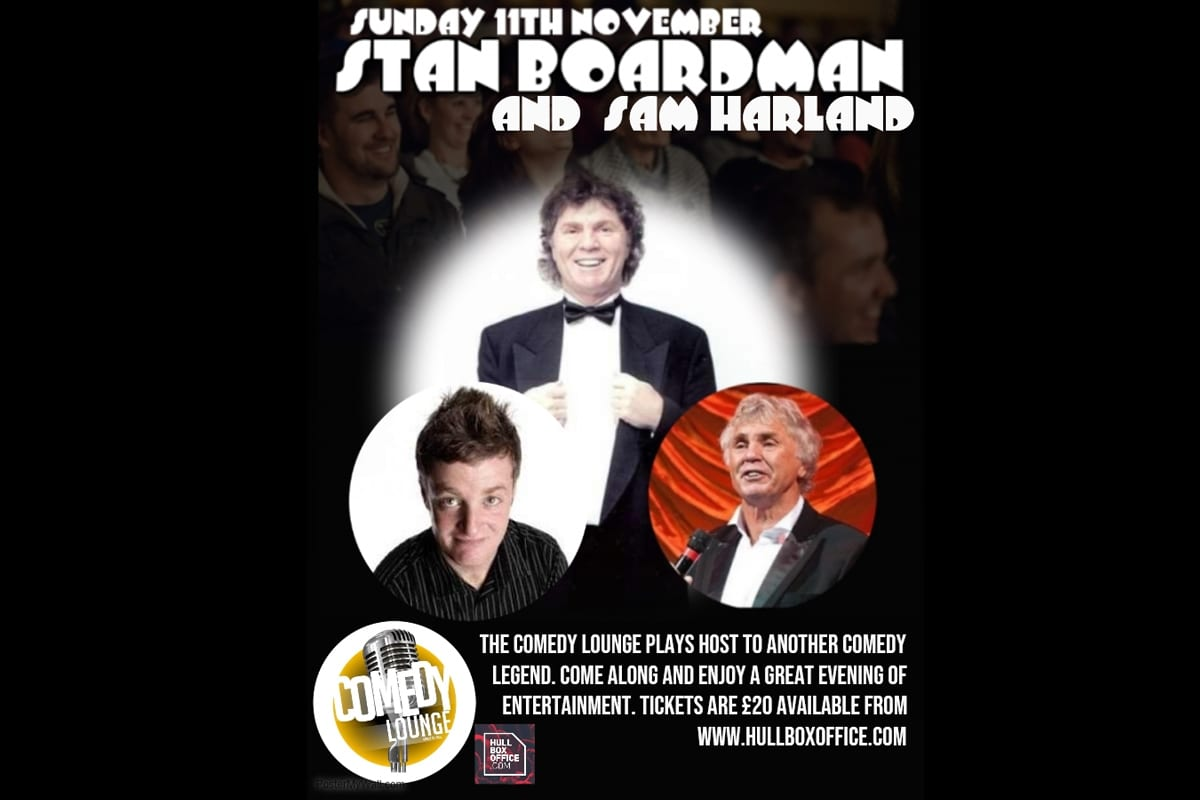 Stan boardman comedy lounge
