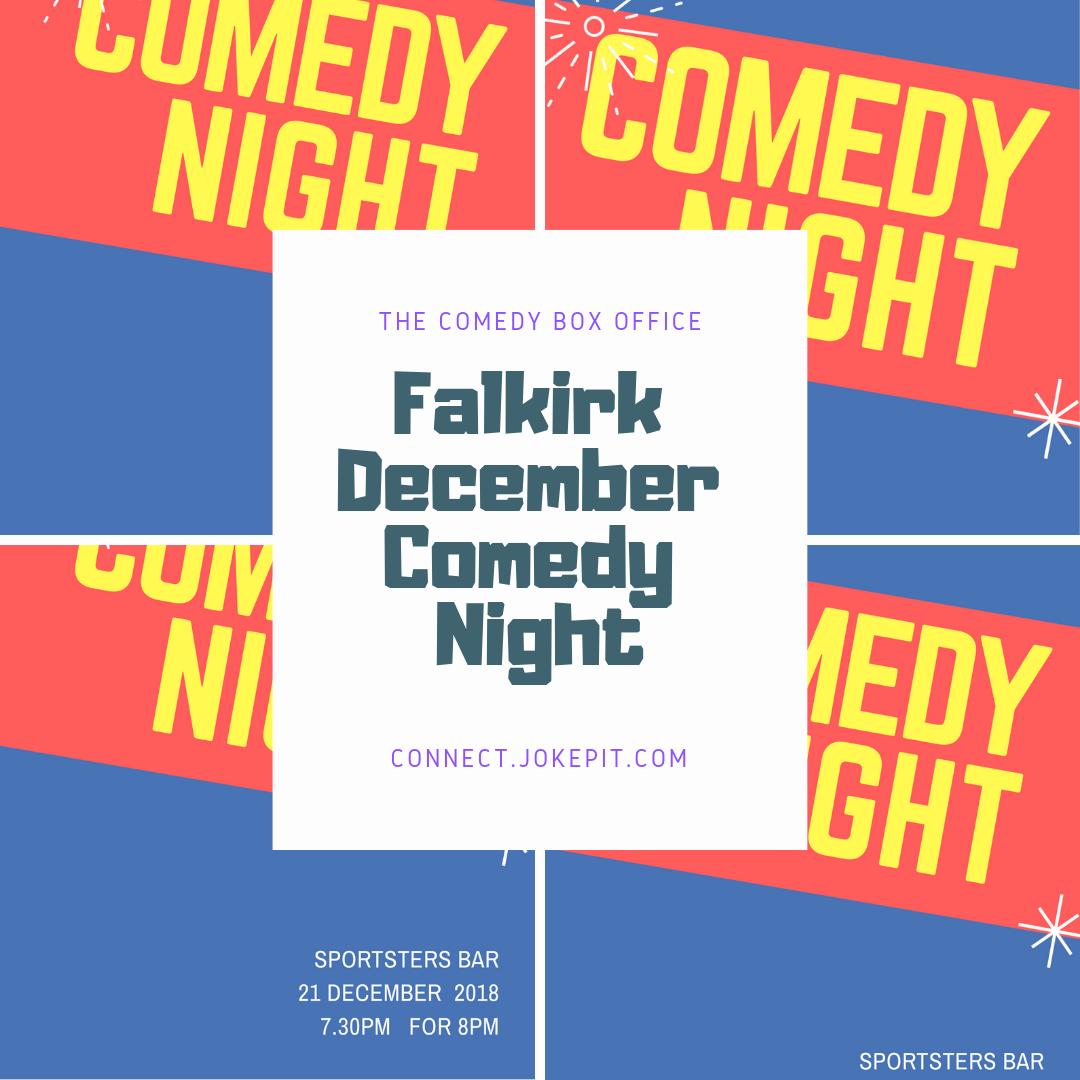Falkirk december comedy night