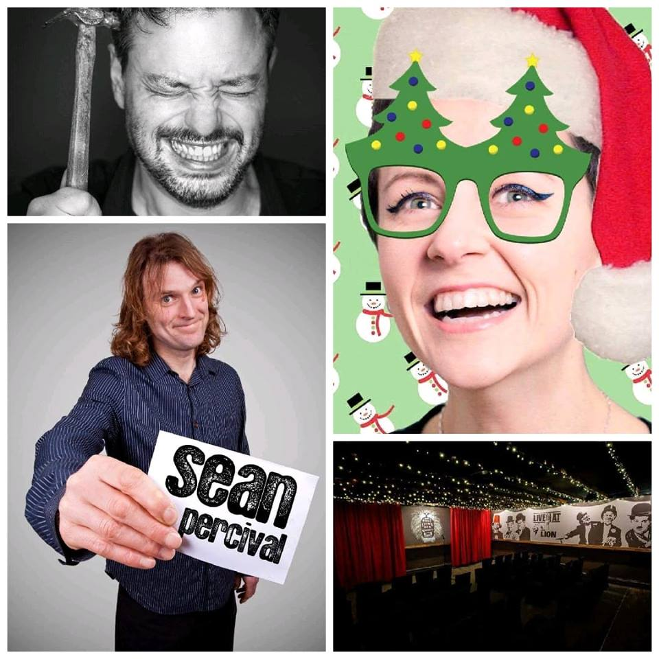 Sean percival   the lion s den comedy club  treorchy saturday 8th december jokepit comedy tickets