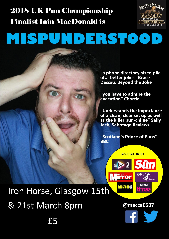 Mispunderstood  iron horse no seetickets