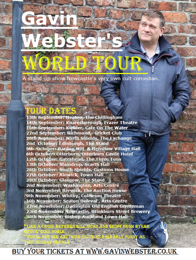 Gavin websters world tour
