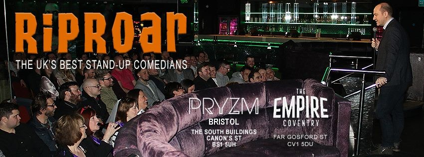 Riproar comedy the empire coventry jokepit comedy tickets