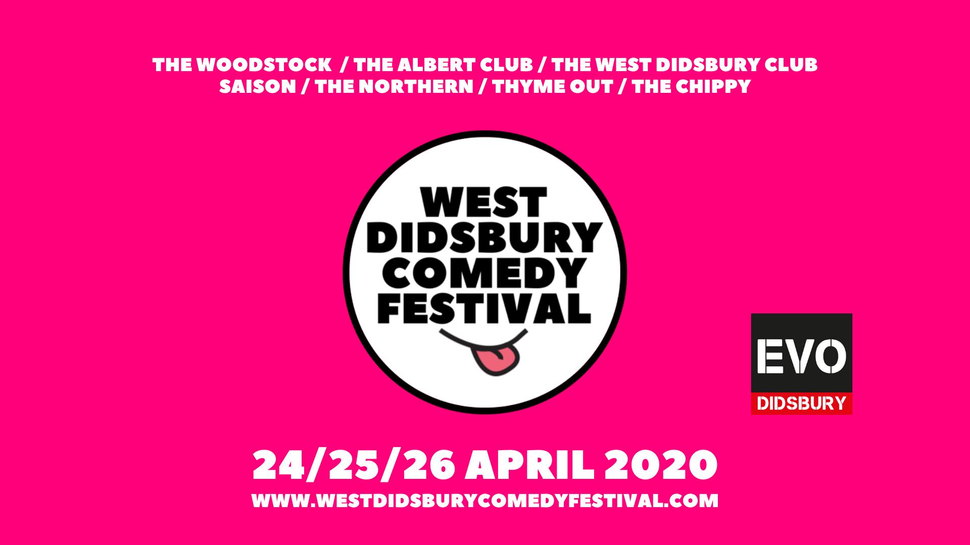 West didsbury comedy festival 2020