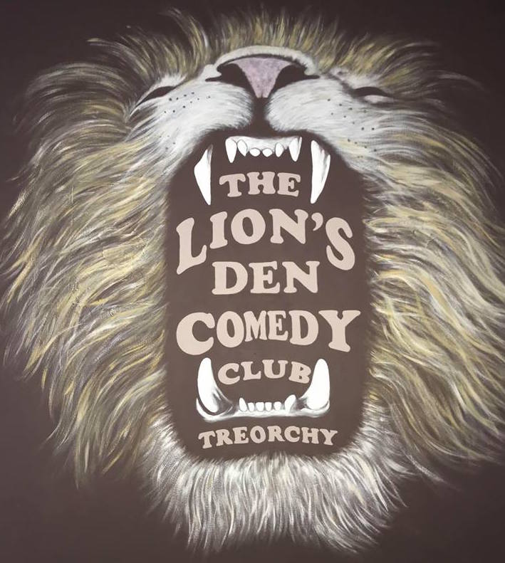 The lions den comedy club treorchy
