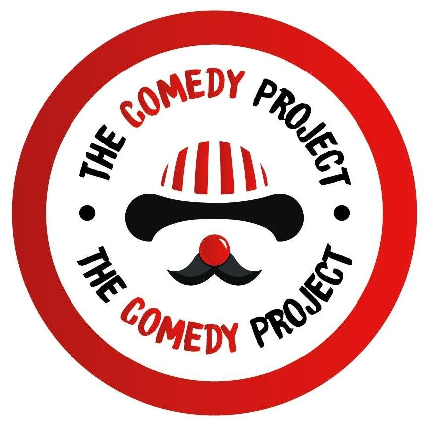 The comedy project logo