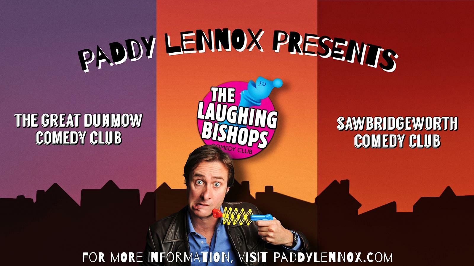 Paddy lennox presents profile page jokepit comedy tickets