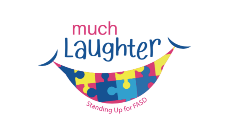 Cover much laughter event page logo