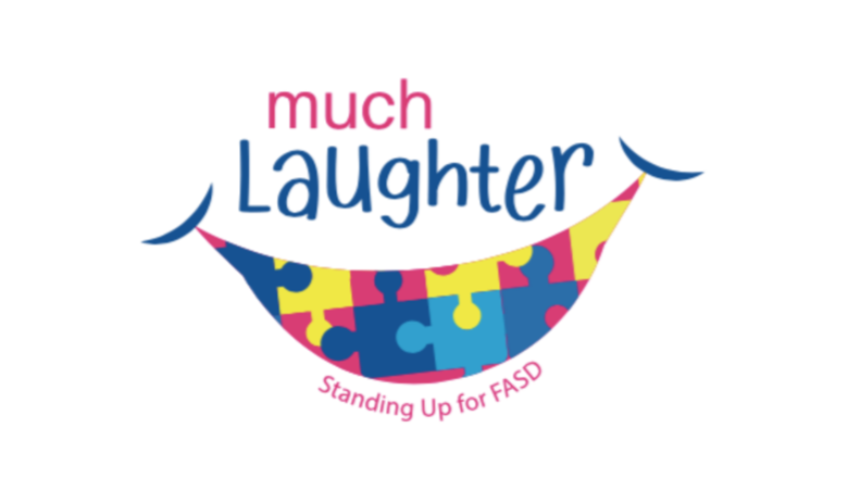 Cover cover much laughter event page logo