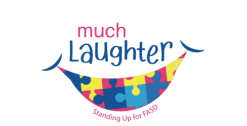 Preview cover much laughter event page logo