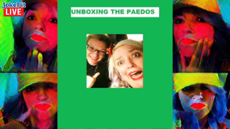 Cover unboxing the paedos