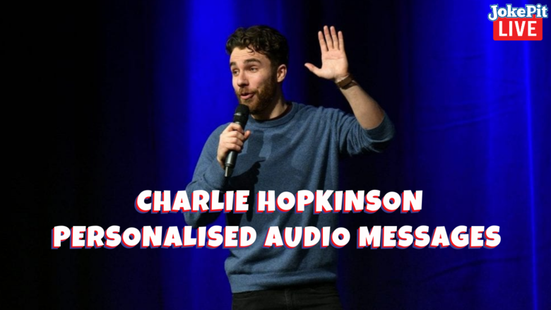 Cover charlie hopkinson personalised audio messages