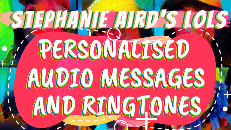 Cover personalised audio messages and ringtones