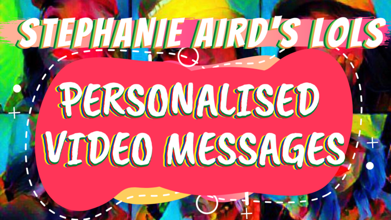Cover personalised video messages