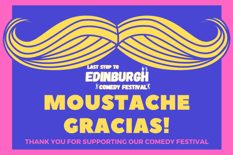Cover thank you for supporting our festival